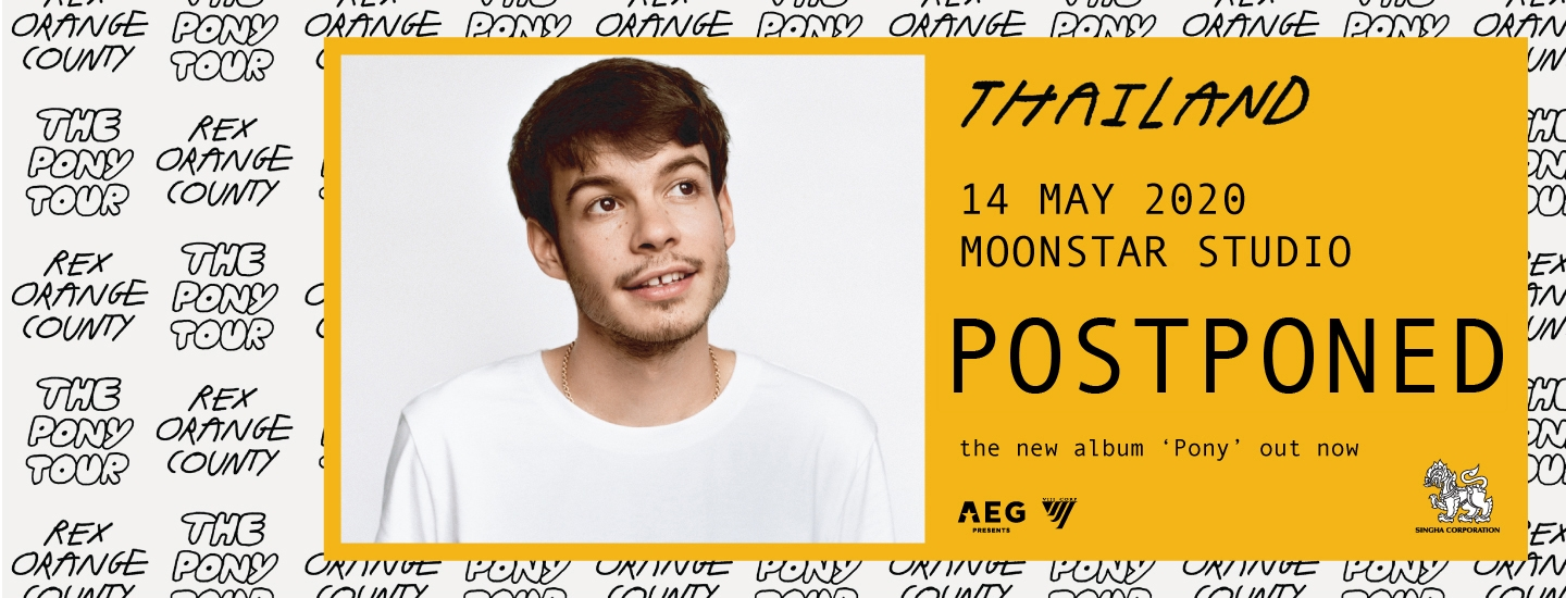 Rex Orange County Live in Bangkok 2020
